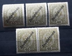 Österreich 1918, Partie Mi 237 MNH Postfrisch - 1918-1945 1st Republic