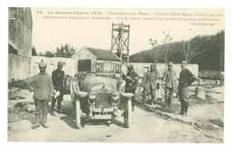 GRANDE GUERRE 1914 - CHAUCONIN PRES DE MEAUX - COLONEL - AMBULANCIERS FRANCAIS-ALLEMANDS...(Soldats, Automobile...) - Militaria