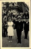 Cp Paola Ruffo Di Calabria, Albert II Von Belgien - Case Reali