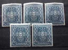Österreich 1922, Partie Mi 399 MNH Postfrisch - 1918-1945 1st Republic