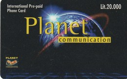 PLANET COMUNICATION - Italien