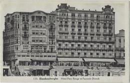 Blankenberghe.   -     Hôtel Petit Rouge Et Pauwels D'Hondt - Blankenberge