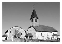 PREVESSIN-MOËNS - Mairie Et église - France