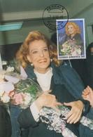 Carte  Maximum    GRECE    Mélina  MERKOURI    1995 - Tarjetas – Máximo
