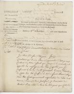Belfort An 3 - 20.1.1795 Dinaumare, Commissaire Inspecteur Pour La Levée Du 25 Me. Des Chevaux - Documents Historiques