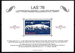 521 - GERMANY - ALLEMAGNE - 1978 - LAS 78 - MINISHEET - MINT - Non Classificati