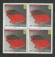 4x ANDORRA - MNH - Transport - Cars - Ferrari - Voitures