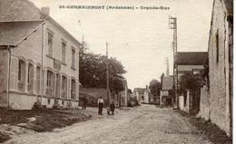 ST.GERMAINMONT. Grande Rue - Non Classés