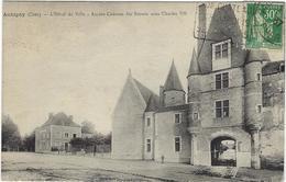 18 Aubigny  L'hotel De Ville Ancien Chateau  Des Stuarts Sous Charles  7 - Aubigny Sur Nere