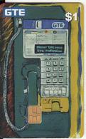 HAWAII(chip) - GTE Cardphone(complimentary), Tirage 55000, 04/98, Used - Hawaï