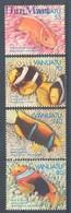 Vanuatu 1994 Mi 964-967 MNH ( ZS7 VNT964-967 ) - Peces