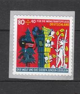 Deutschland BRD ** 3526 Grimms Märchen Skl Auf Folie  Mit Nummer Neuausgabe 6.2.2020   Postpreis 1,20 - BRD