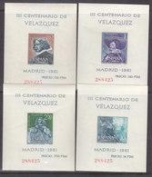 **1344/47 H.B. VELAZQUEZ (MISMA NUMERACIÓN) CALIDAD LUJO. TIRADA MUY CORTA. ENVIO 0,65 CARTA ORDINARIA. - 1931-Hoy: 2ª República - ... Juan Carlos I