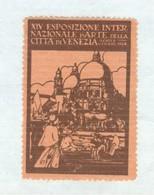 XIV ESPOSIZIONE INTERNAZIONALE D'ARTE CITTA' DI VENEZIA -1924 - ERINNOFILO - Altri
