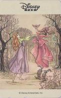 TC Japon / 110-016 - Série DISNEY FAN - ALICE In Wonderland - Lapin Ecureuil Rabbit Squirrel - Japan Movie Phonecard - Disney