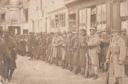 61 - Mortagne Au Perche -  Militaires - Carte Photo - Mortagne Au Perche