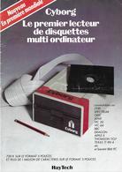 Publicité Cyborg ( Lecteur De Disquettes Multi Ordinateur ), 1983 - Autres