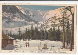 CPA  - Etats Unis NH - Tuckerman Ravine And Headmall - Mt Washington :  Achat Immédiat - (cd027 ) - Andere