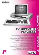 Publicité Epson QX-10, Ca 1983 - Autres