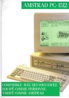Publicité Amstrad PC-1512, 1986 - Autres