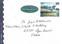 Wallis Et Futuna 2003 Sigave Sailing Canoe Cover - Covers & Documents