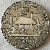 RÉPLICA Medalla Cerveza Oktoberfest 1910, Munich, Baviera, Alemania. 100 Aniversario, 1810 - [ 2] 1871-1918 : Imperio Alemán