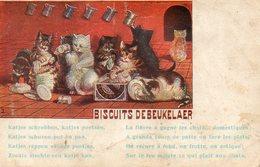 Biscuits,chocolat Chocolaterie, Chocolade De Beukelaer's. Chats. - Gatti