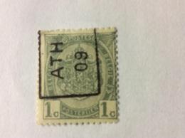 Ath 09 Nr 1294 Azz - Vorfrankiert