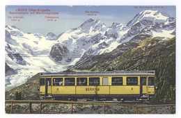 30272 Ober-Engadin Berninabahn Mit Berninagruppe - GR Grisons