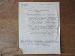 OBERFELDKOMMANDANTUR 670 LE 23 SEPTEMBRE 1941 LE CHEF D'ADMINISTRATION MILITAIRE OBJET TRANSFORMATION D'APPAREILS RECEPT - Historische Dokumente