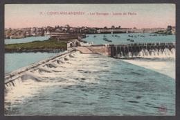 102785/ ANDRESY, Les Barrages, Limite De Pêche - Andresy