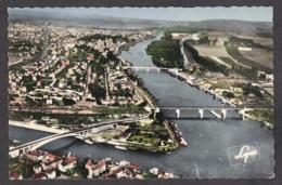 102791/ CONFLANS-SAINTE-HONORINE, Confluent De La Seine Et De L'Oise, Vue Aérienne, Pilote Opérateur R. Henrard - Conflans Saint Honorine
