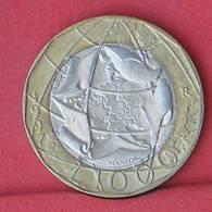 ITALY 1000 LIRE 1997 - ERROR -    KM# 190 - (Nº33703) - 1 000 Lire