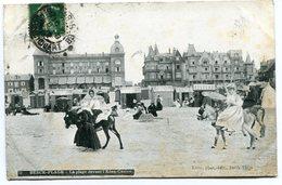 CPA - Carte Postale - France - Berck Plage - La Plage Devant L'Eden Casino - 1912 ( I11538) - Berck
