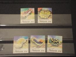 MALAYSIA - 1992 CORALLI 5 VALORI - NUOVI(++) - Malesia (1964-...)