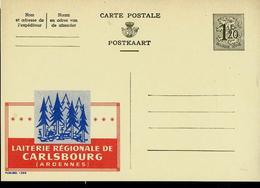 Publibel Neuve N° 1390 ( Laiterie Régionale CARLSBOURG (Ardennes) - Publibels