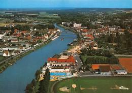 Pont Sainte Ste Maxence Stade Péniches Péniche Cim 4636 - Pont Sainte Maxence