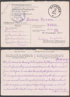 "Guerre 40-45 - Carte ""Kriegsgefangenenpost"" Du Stalag XIII D Vers Baudour (1943) / Belle Censure D1 - Oorlog 40-45"