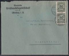 DR Brief Mef Minr.2x 321B Offenburg 3.11.23 - Deutschland