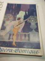 Grande Plaquette De Prestige/Théâtre National De L'Opéra Comique /Automobiles BERLIET  Et BENZ/ Vers 1910     PROG268 - Programs