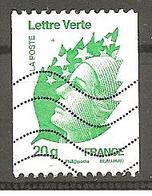 France 2011 - Yv N° 4597  - Marianne De Beaujard   Oblitéré - Roulettes