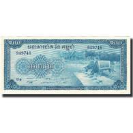 Billet, Cambodge, 100 Riels, Undated (1970), KM:13b, NEUF - Cambodge