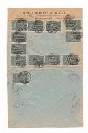 Une Lettre Année 1923 Belle Oblitération  Berlin Pour Paris  :Timbres 5000 Mark Deutsches Reich - Deutschland