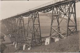 Foto Rohling AK Markersbach Eisenbahn Zug Brücke Viadukt Mittweida A Raschau Scheibenberg Schwarzenberg Vogel Erzgebirge - Elterlein