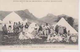 CPA Ain Sfa - L'infirmerie Indigène, Près Les Tombes D'Ain-Sfa (très Belle Scène) - Sonstige