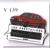 V139  Pin's  BMW Qualité Egf Les Prestations Immédiates Achat Immédiat - BMW