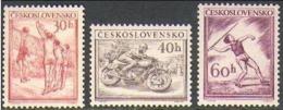 """-Czechoslovakia-1953-""""Sports""""   MH (*) - Czechoslovakia"""
