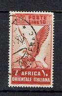 ITALY...Italian East Africa...1938. - Italian Eastern Africa