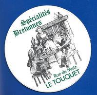 A.C Restaurant LE TOUQUET Spécialité Bretonnes - Stickers