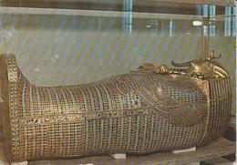 Cairo Egyptian Museum - The Second Coffin Of Tutankhamun - Viag. 1984 Per Bergamo - Cairo